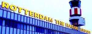 Taxi vliegveld Rotterdam